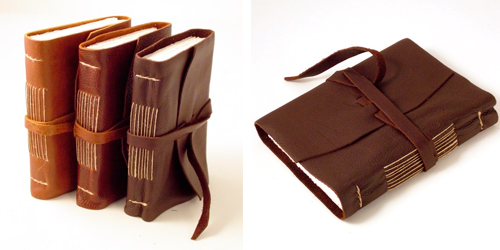 Soft Calf leather journals rossi1931