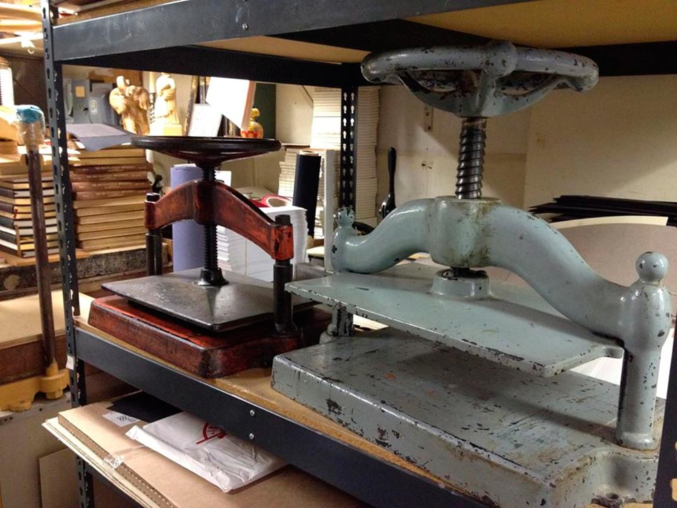 Klaus Rotzscher Pettingell Bookbindery machinery