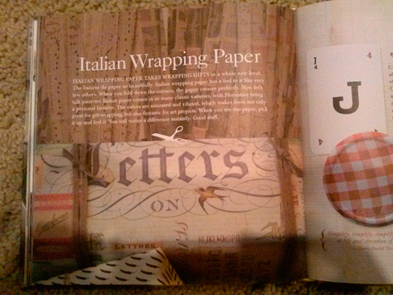 Watson Kennedy Style & Simplicity rossi italian wrapping paper