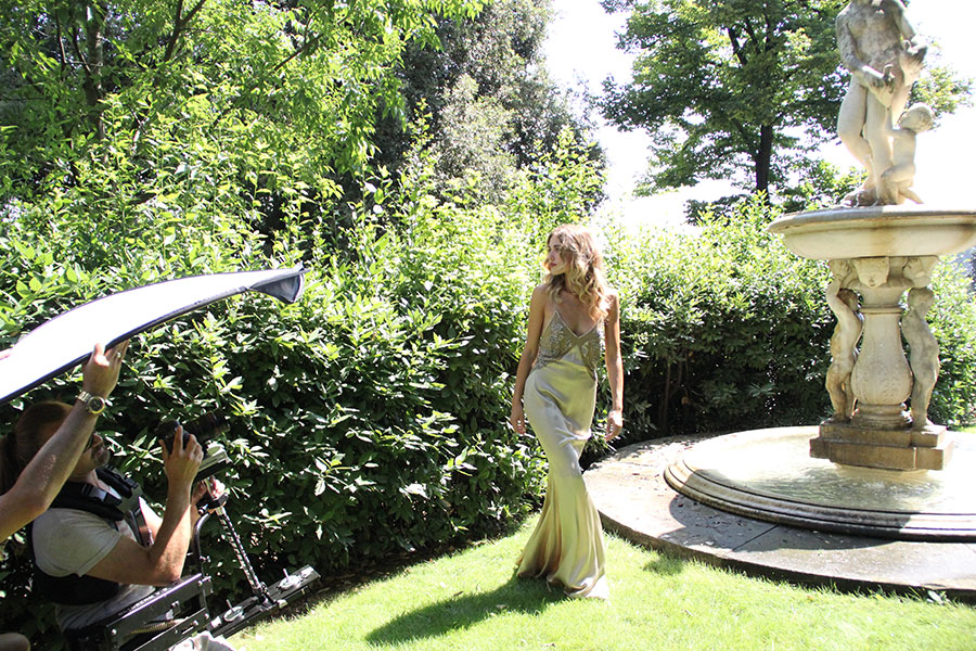 Backstage Villa Bardini Rossi1931 the Italian Beauty