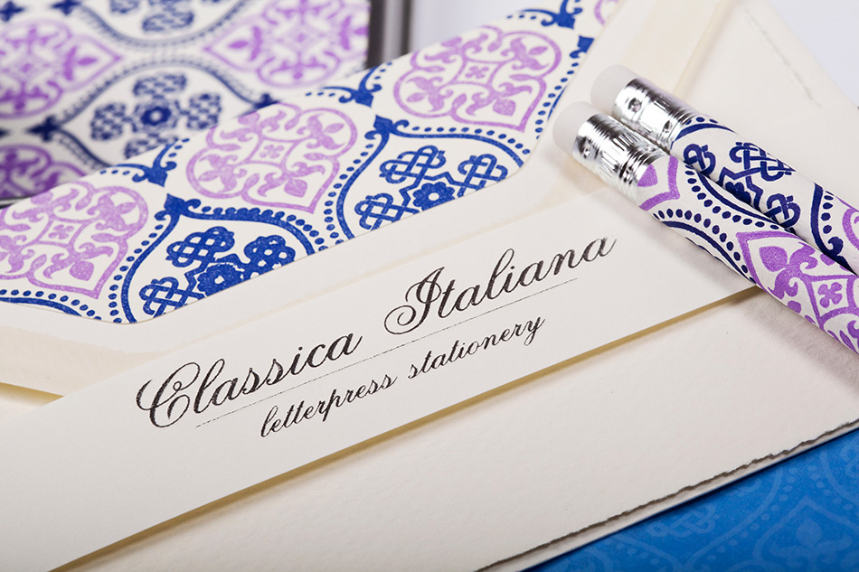 Classica Italiana Letterpress Stationery