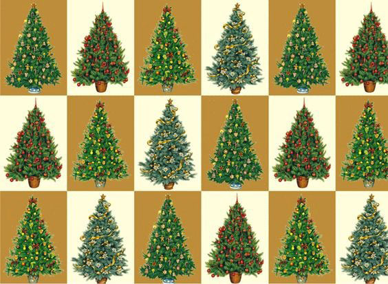 rossi1931 decorative paper christmas trees