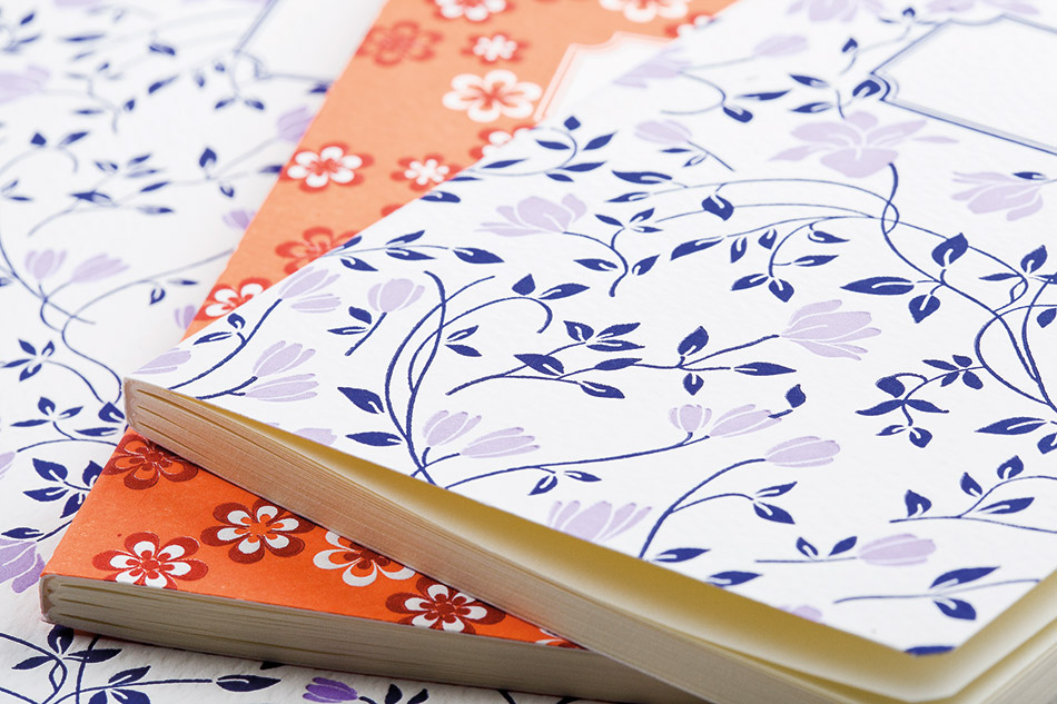 Notebooks Letterpress Decorative Papers
