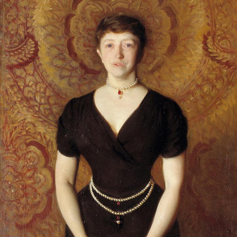 Portrait Mrs Gardner Isabella Stewart Gardner Museum