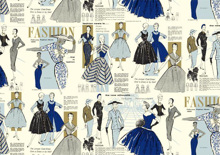 CRT 174 Women Fashion 50th Fine Italian Decorative Papers