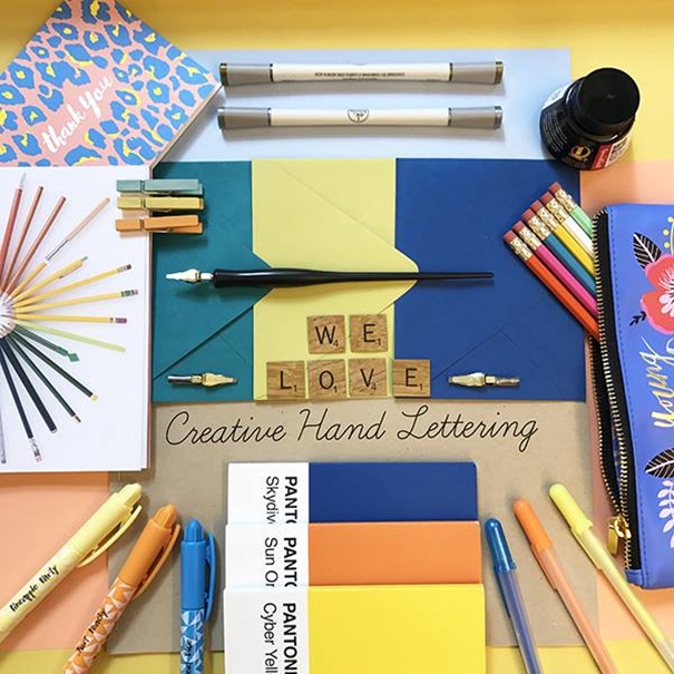 Creative Hand Lettering Paper Source