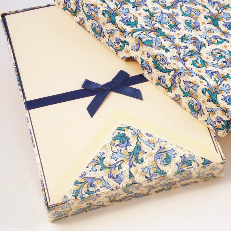 Writing Papers Lined Envelopes Traditional Florentine Style