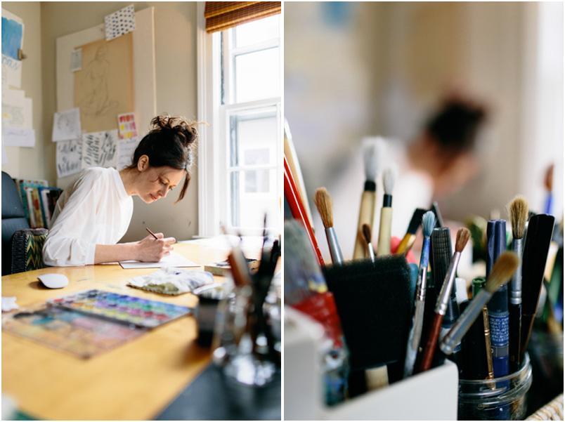 Stephanie Fishwick, Calligrapher