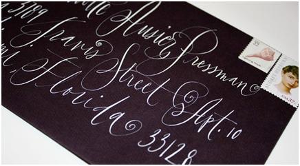 decorative paper, calligrapher