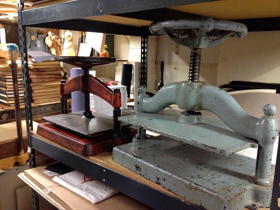 Klaus Rotzscher Pettingell Bookbindery machinery