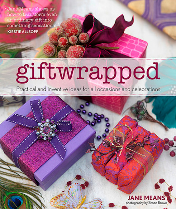 Giftwrapped a book by Jane Means