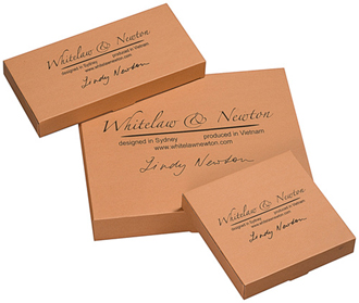 Individual Box Labelled with the Whitelaw & Newton Brand