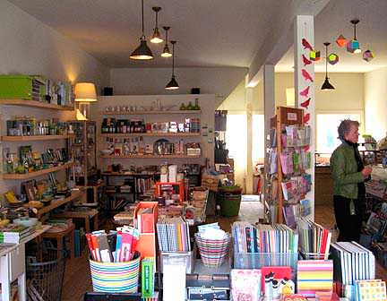 Rock Paper Scissors stationery shop in maine