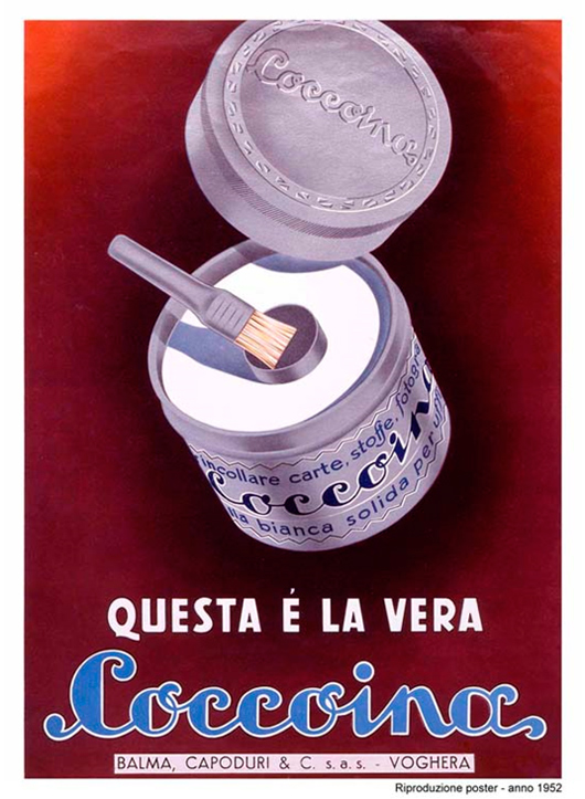 """This is the real Coccoina"""" (1952) - advertising posters"""