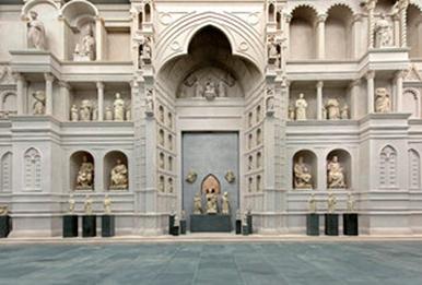 Reconstruction of Arnolfo di Cambio's facade