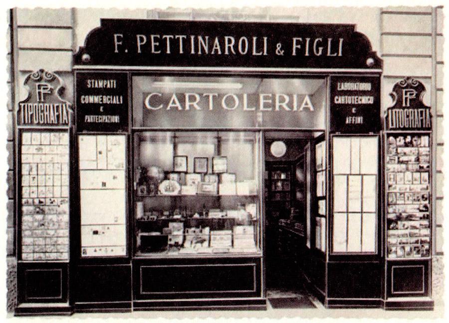 Pettinaroli Milan Italy - Classic stationer shop, since 1881