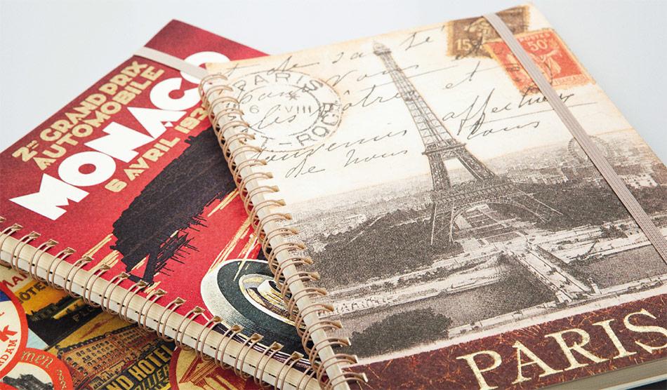 Paris Notebooks with Elastic Closure