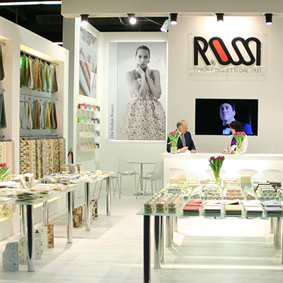 Rossi booth at Paperworld
