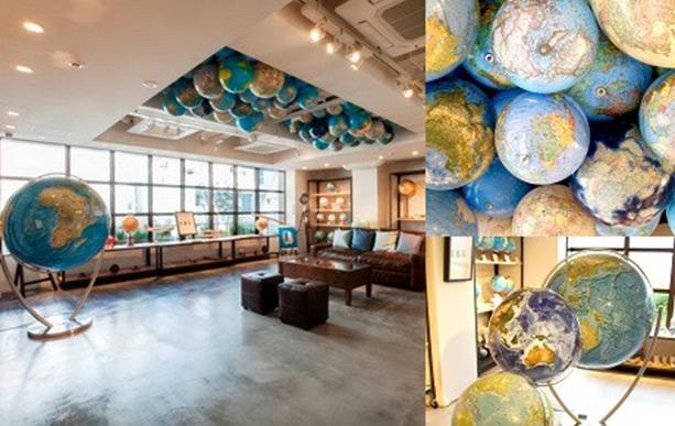 50 Types Globe 6th Floor K.Itoya