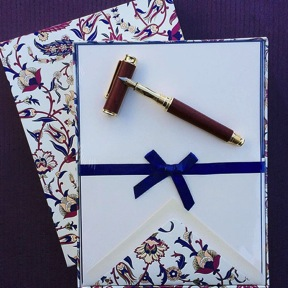 Hand written notes, cards, letters and journaling: the importance of handwriting