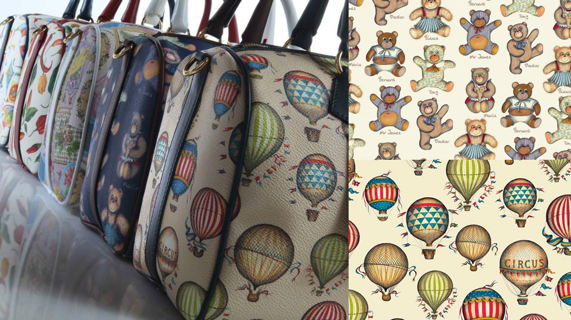 Bags with Rossi1931 crt517 Balloons and crt519 Teddy Bears