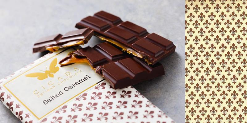chocolate cicada decorative papers rossi1931