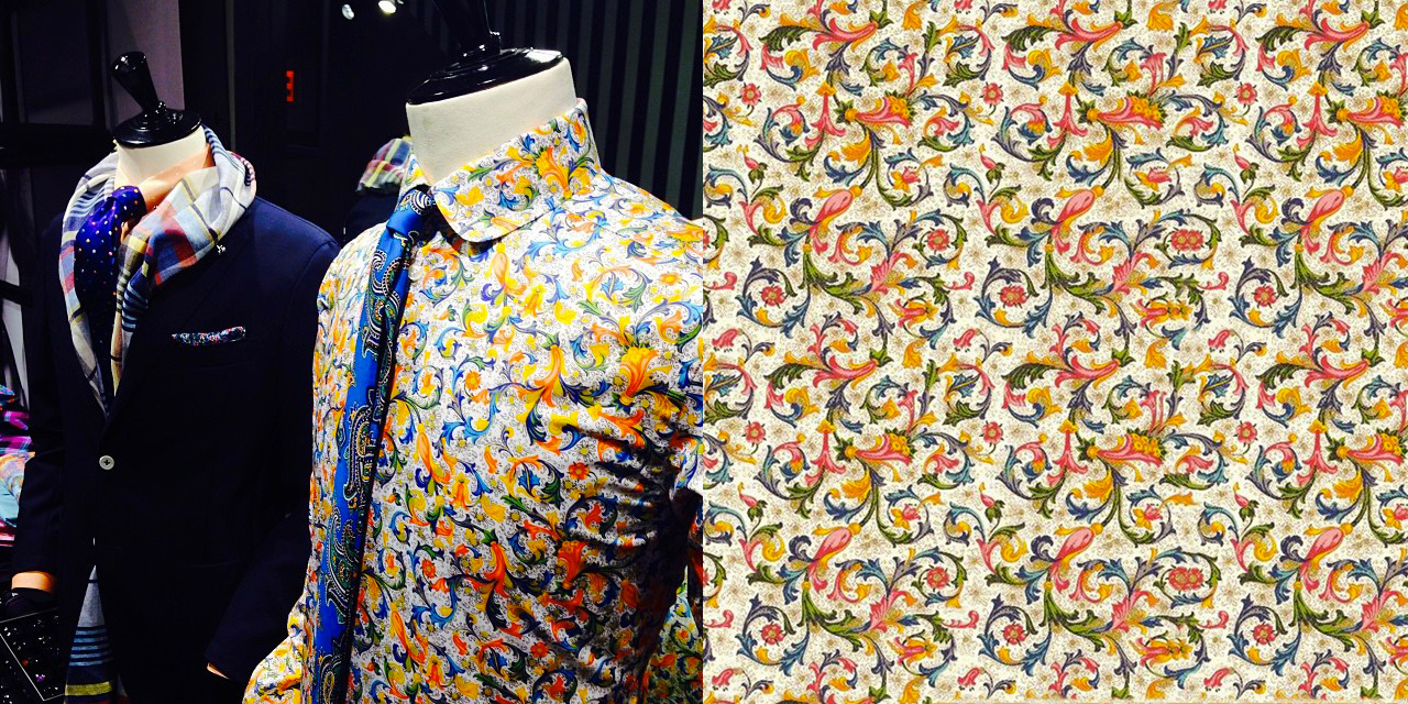 decorative papers rossi1931 Eton shirt crt001 traditional fiorentine style