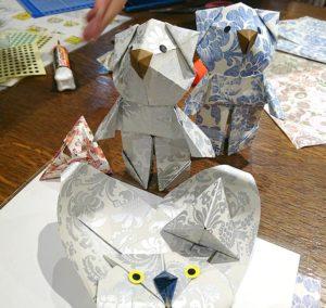 Origami using Rossi 1931 Decorative Papers