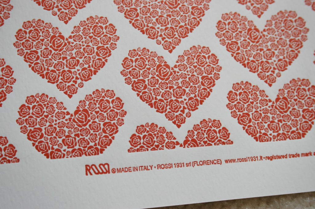 All Heart: A new pattern from the 2013 Letterpress Collection