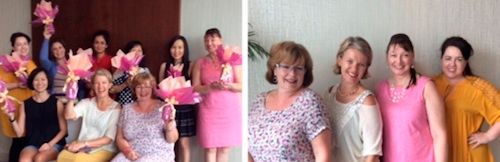 First creative Singapore gift wrapping courses at the Mandarin Oriental Hotel