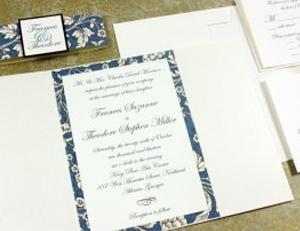 Wedding Invitation Gatefold Rossi1931