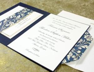 Wedding invitation Origami Style Folding Rossi1931