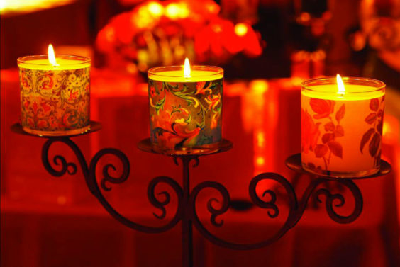 candles decorative paper rossi1931 holiday