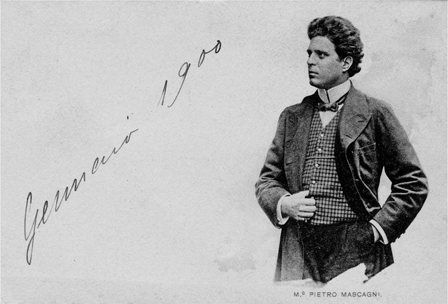 Maestro Pietro Mascagni