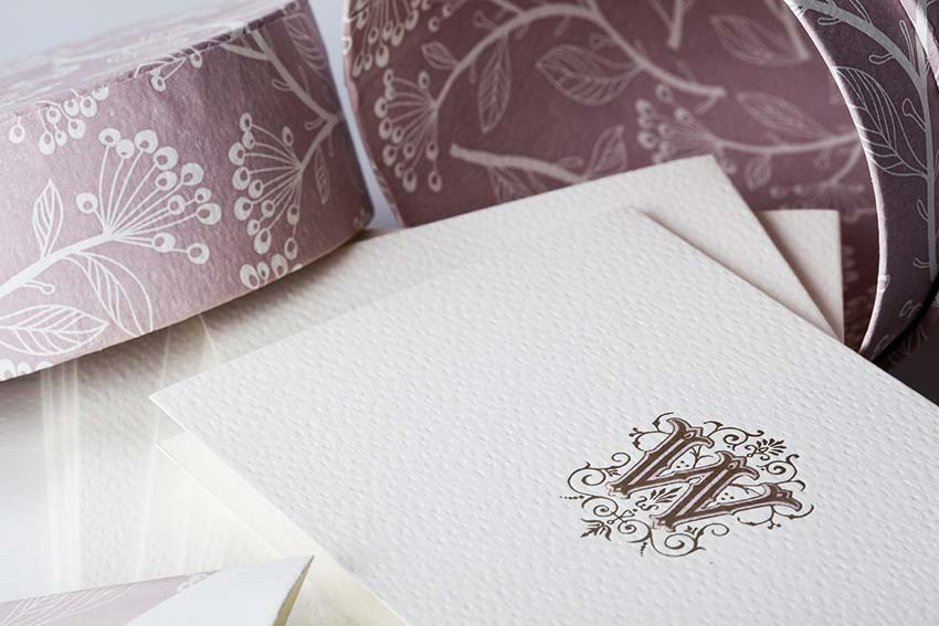 couture stationery rossi1931 paper embossing