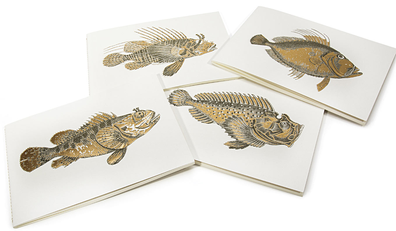 Fish Eco Friendly notebooks