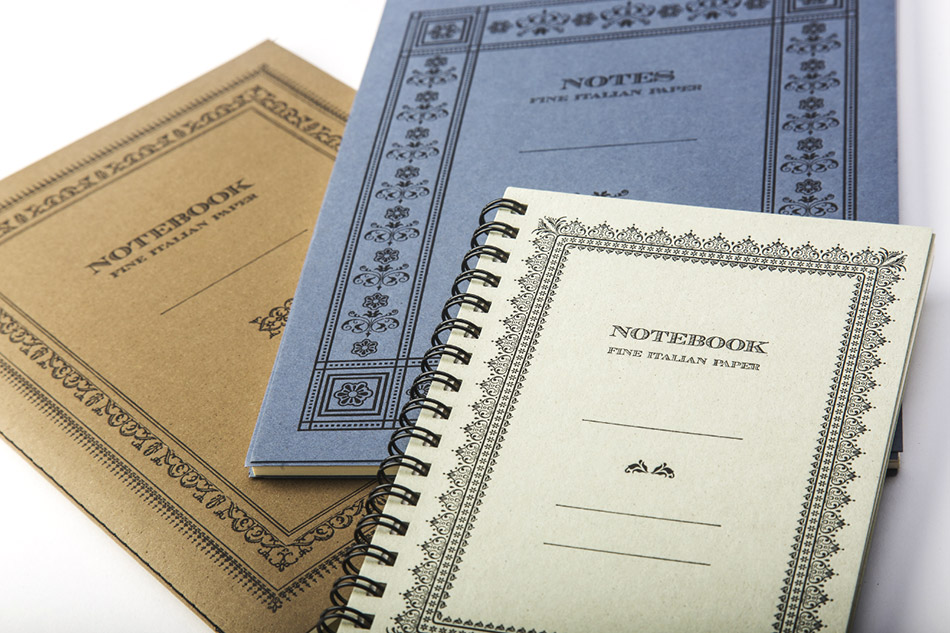 Eco Friendly Notebooks and Notepads