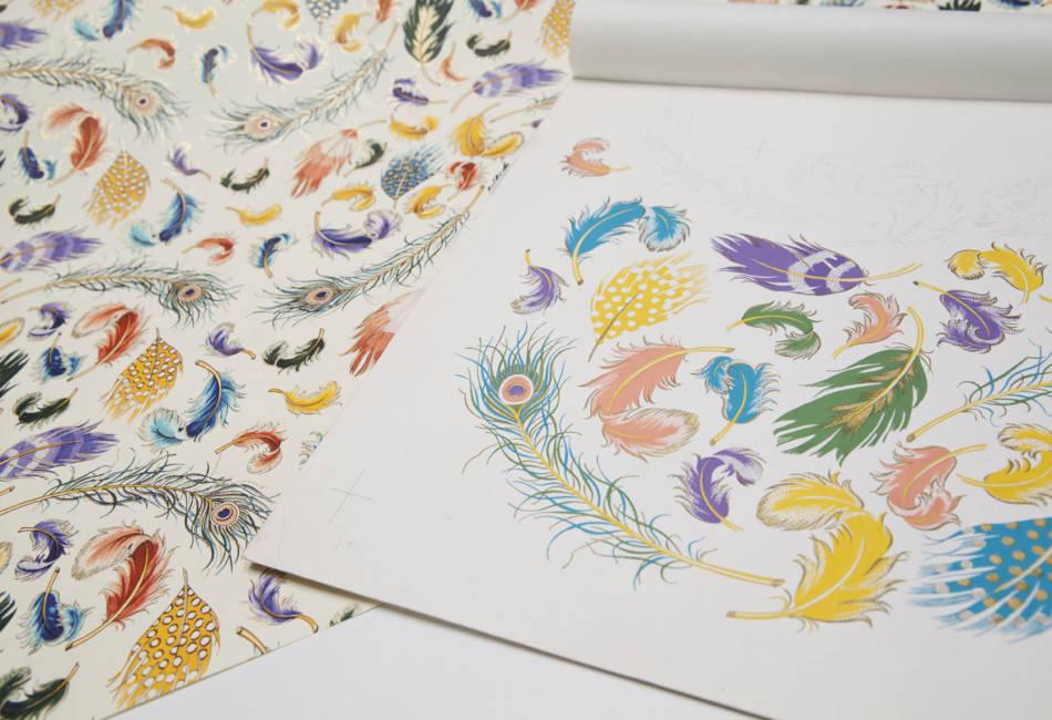 Ornamental Style Paper by Patrizia Margheri