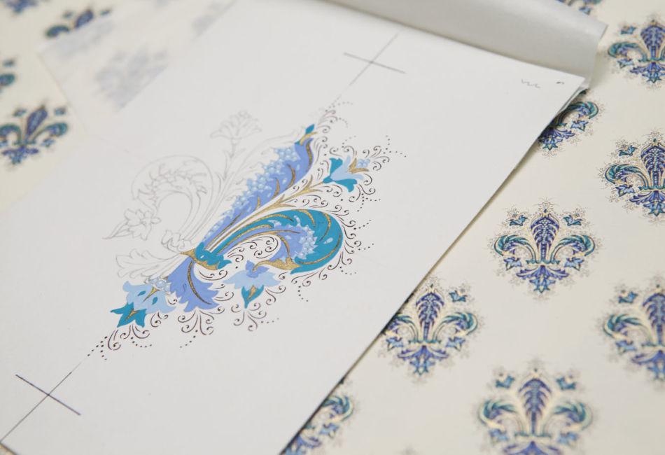 Florentine Style Decorative Paper by Patrizia Margheri