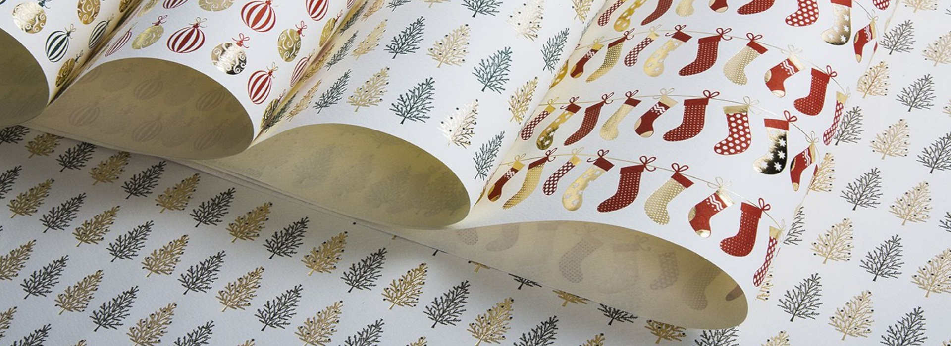 Christmas decorative papers for gift wrapping by Rossi1931